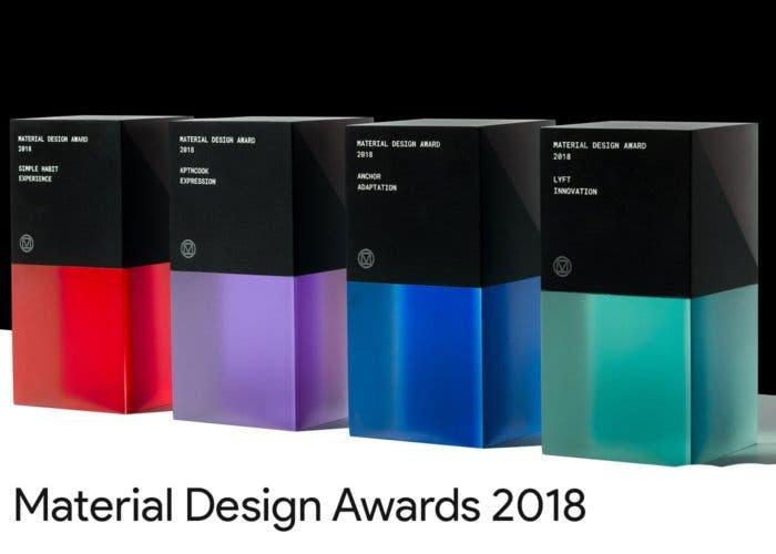Google Material Design Awards 2018: las aplicaciones ganadoras de este año