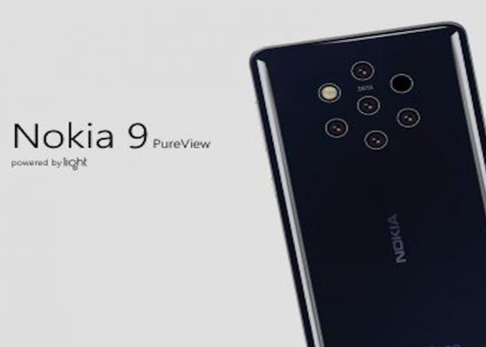 Filtrada la funda del Nokia 9 con los agujeros para las 5 cámaras