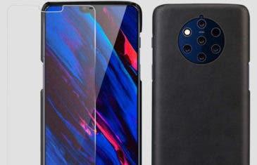El diseño del Nokia 9 PureView se vuelve a filtrar gracias a sus fundas