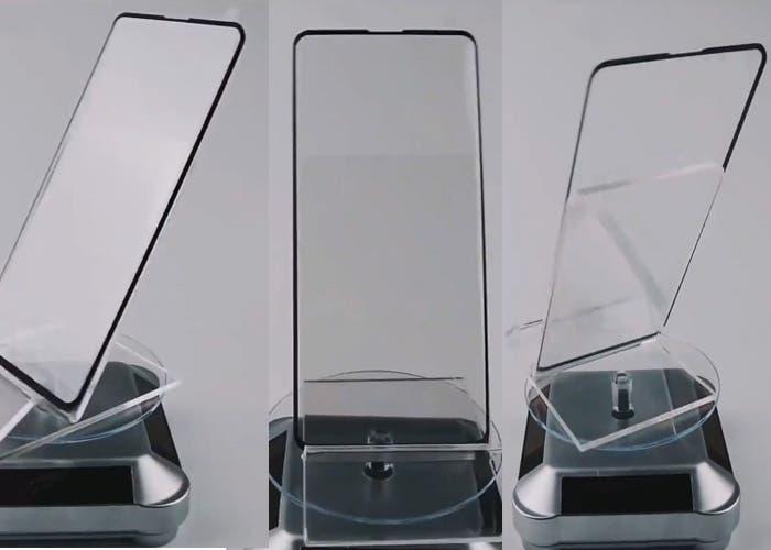 Samsung Galaxy S10: aparece un vídeo del protector de pantalla