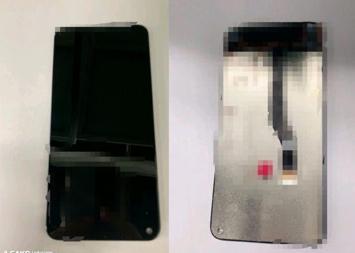 Samsung Galaxy S10: las primeras imágenes de la pantalla Infinity O