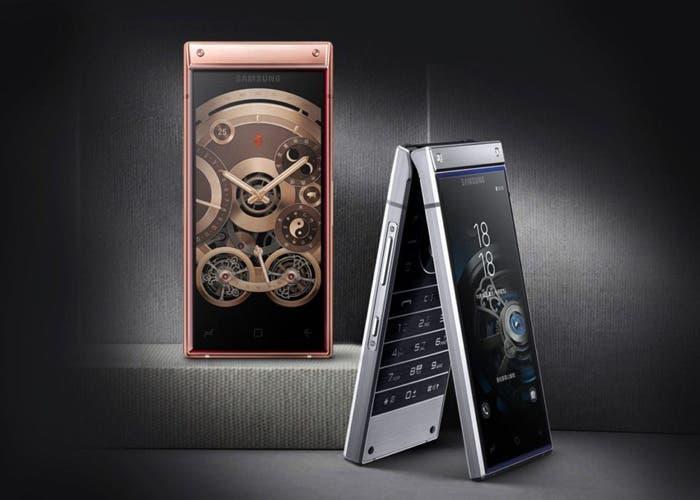 Samsung W2019: el nuevo móvil con tapa de Samsung ya es oficial