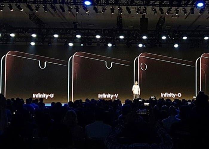 Así son los tres nuevos notch que prepara Samsung para sus móviles