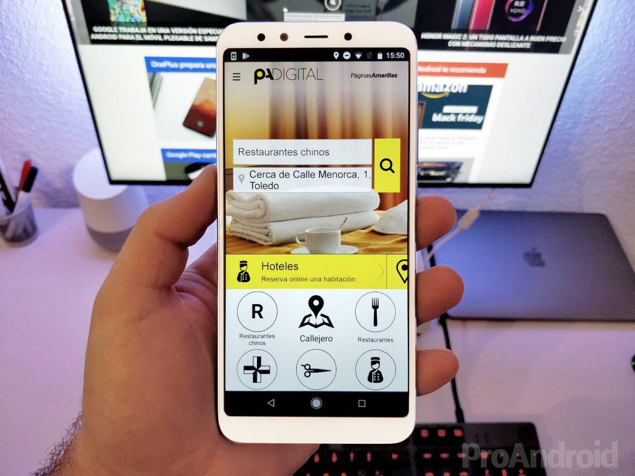 Páginas Amarillas: la aplicación de información que deberías tener en tu Android