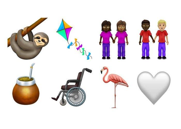 Así serán los nuevos emojis programados para 2019