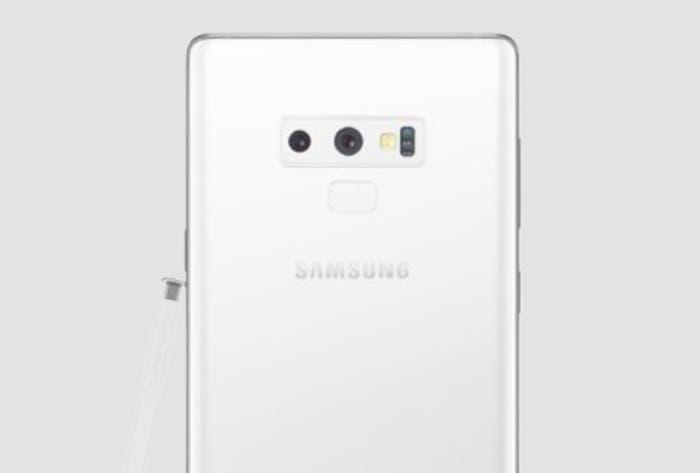 El Samsung Galaxy Note 9 en color blanco parece ser una realidad: llegaría dentro de pocos días