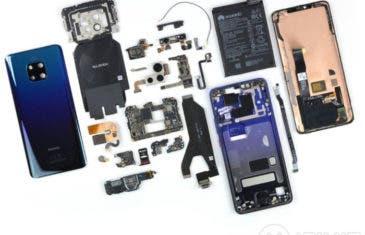iFixit nos muestra como es el interior del Huawei Mate 20