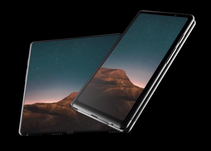 Así se ve el móvil plegable de Samsung en este increíble vídeo render
