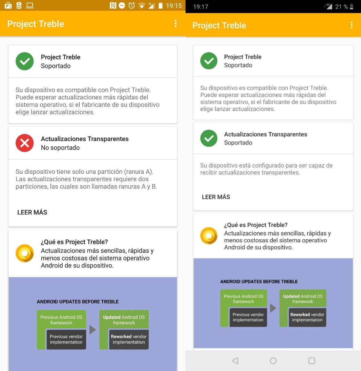 Project Treble: cómo saber si tu móvil es compatible