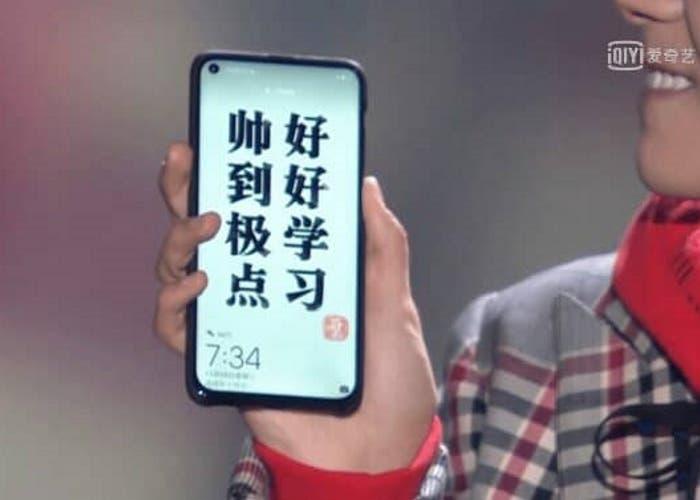 Huawei anunciará su teléfono con agujero en pantalla durante diciembre