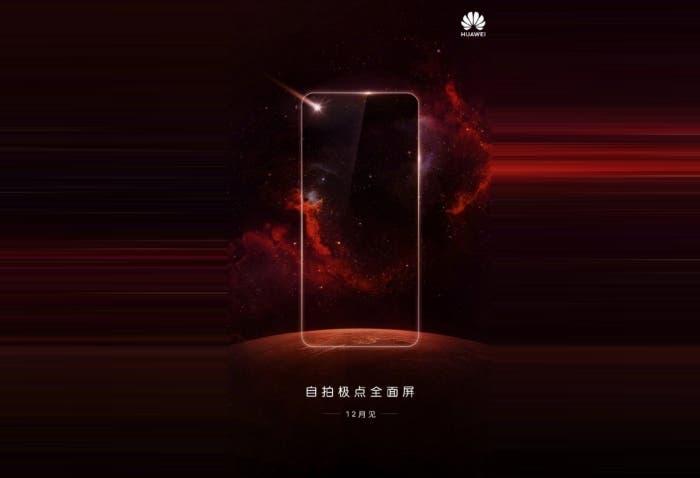 Huawei quiere adelantarse a Samsung y lanzará un teléfono con agujero en pantalla