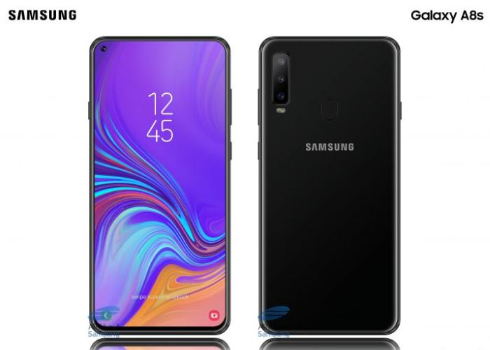 Estas imágenes confirmarían el diseño final del Samsung Galaxy A8s