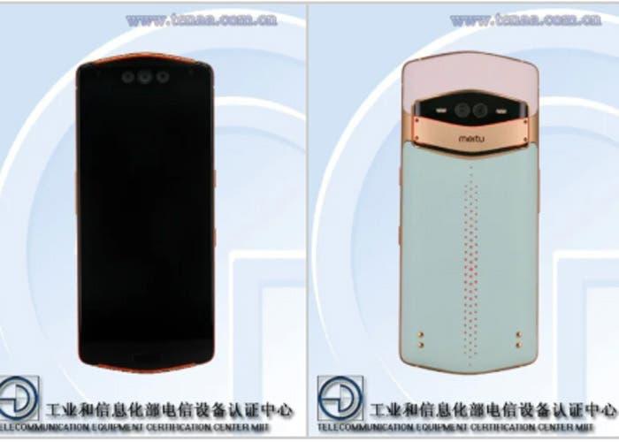 Se filtra en TENAA el primer móvil con triple cámara delantera