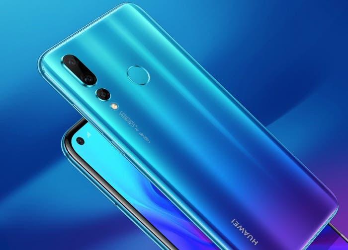 El Huawei Nova 4 es oficial: cámara de 48 megapíxeles y agujero en pantalla