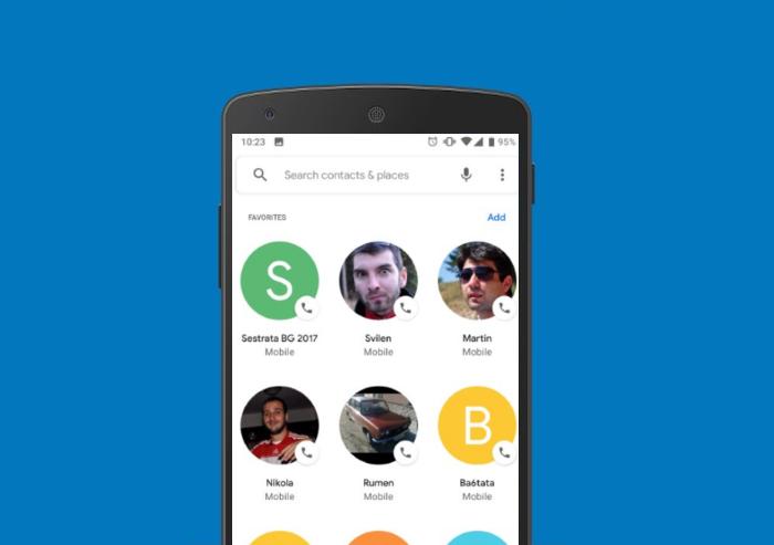 La aplicación de teléfono de google rediseña su interfaz