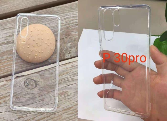 Filtradas las fundas de los Huawei P30 y P30 Pro: así podrían ser sus diseños
