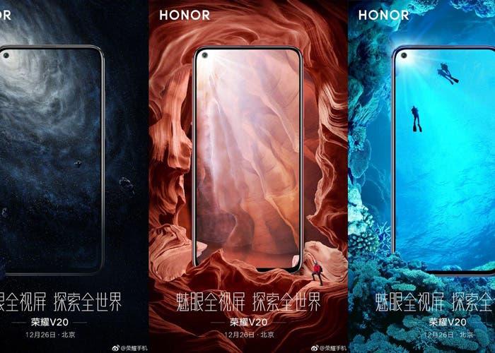 Honor View 20: se filtran todas las variantes y sus posibles precios