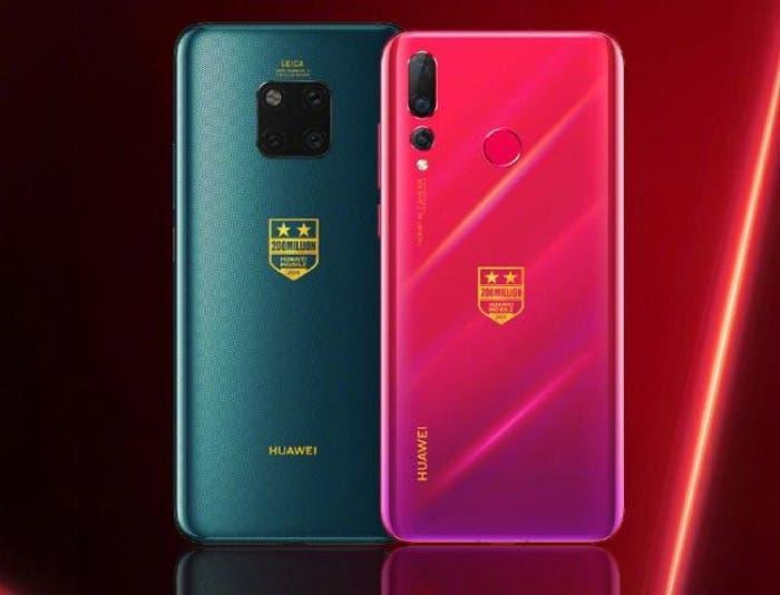 Habrá una versión especial de los Huawei Mate 20 Pro y Nova 4 con 8 GB de RAM