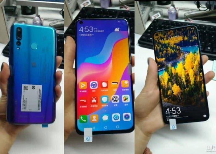 El Huawei Nova 4 se filtra en imágenes reales antes de la presentación