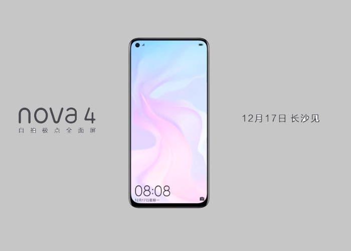 Huawei Nova 4: se filtra el primer vídeo promocional del dispositivo