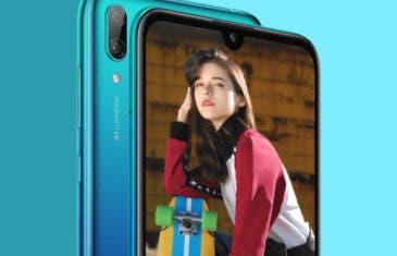 Así es el nuevo Huawei Y7 2019: un móvil económico con 4.000 mAh de batería