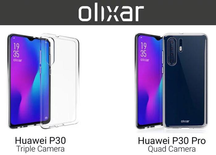 Olixar confirma que el Huawei P30 Pro tendrá 4 cámaras