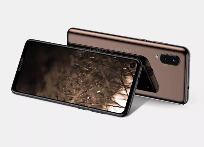 Así podría ser el primer móvil Motorola con agujero en la pantalla, ¿Motorola P40? ¿Motorola One de 2ª generación?