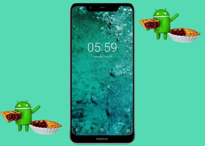 El Nokia 5.1 Plus comienza a recibir la versión estable de Android 9 Pie