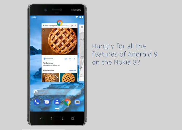 Nokia 8: la versión estable se retrasa pero ya está disponible la beta de Android 9 Pie