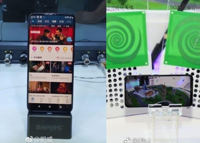 OPPO y Vivo también muestran sus primeros smartphones 5G
