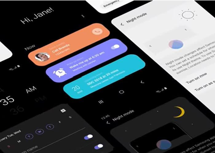 Samsung presume de las novedades de One UI en un vídeo oficial