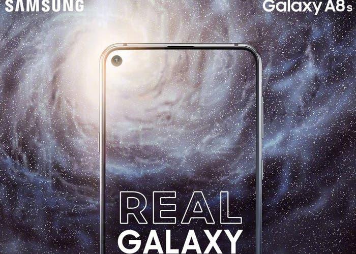 El Samsung Galaxy A8s se presentará el 10 de diciembre