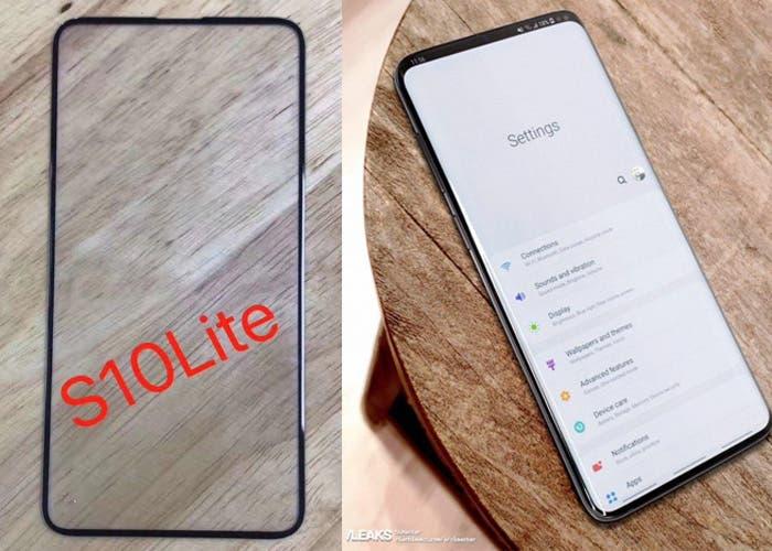 Samsung Galaxy S10 Lite y Galaxy S10+: nuevos detalles sobre sus pantallas