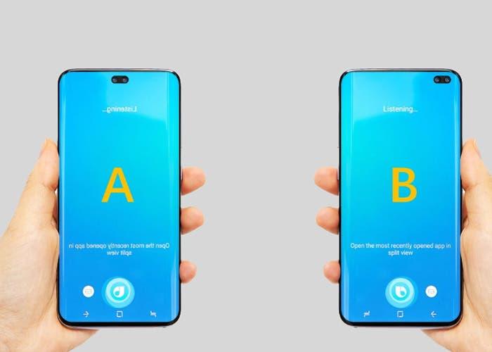 Samsung Galaxy S10 Plus: los protectores de pantalla incluyen la cámara dual