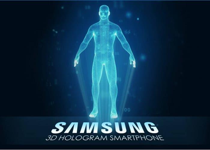 Samsung patenta la pantalla del futuro con presencia de los hologramas