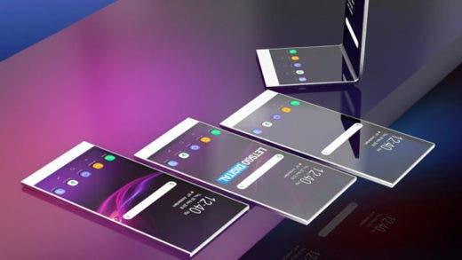 Sony trabaja en un Xperia plegable con pantalla transparente