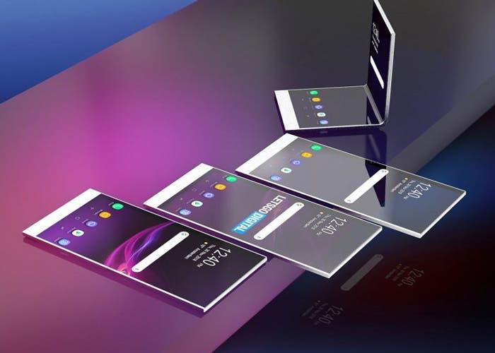 Sony también trabaja en un teléfono plegable: pantalla Samsung y un diseño desconocido