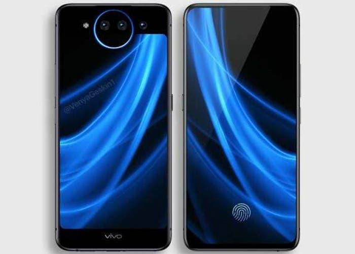 El Vivo NEX 2 aparece en unas fotografías revelando su pantalla secundaria