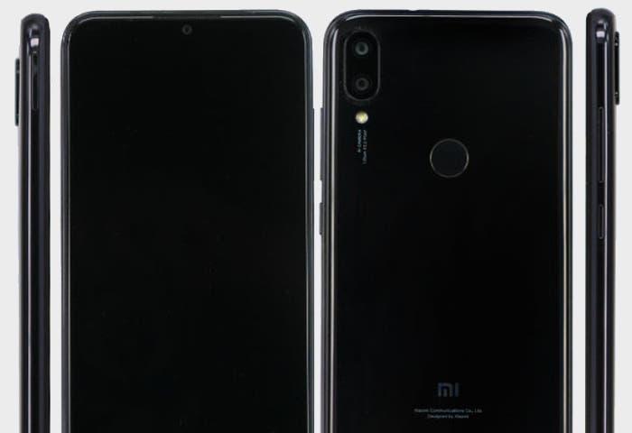 Filtrado el diseño de un nuevo móvil Xiaomi con notch en forma de gota de agua