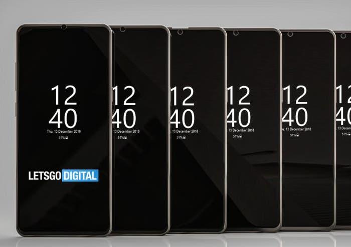 Samsung patenta 6 notch que podrían llegar en 2019