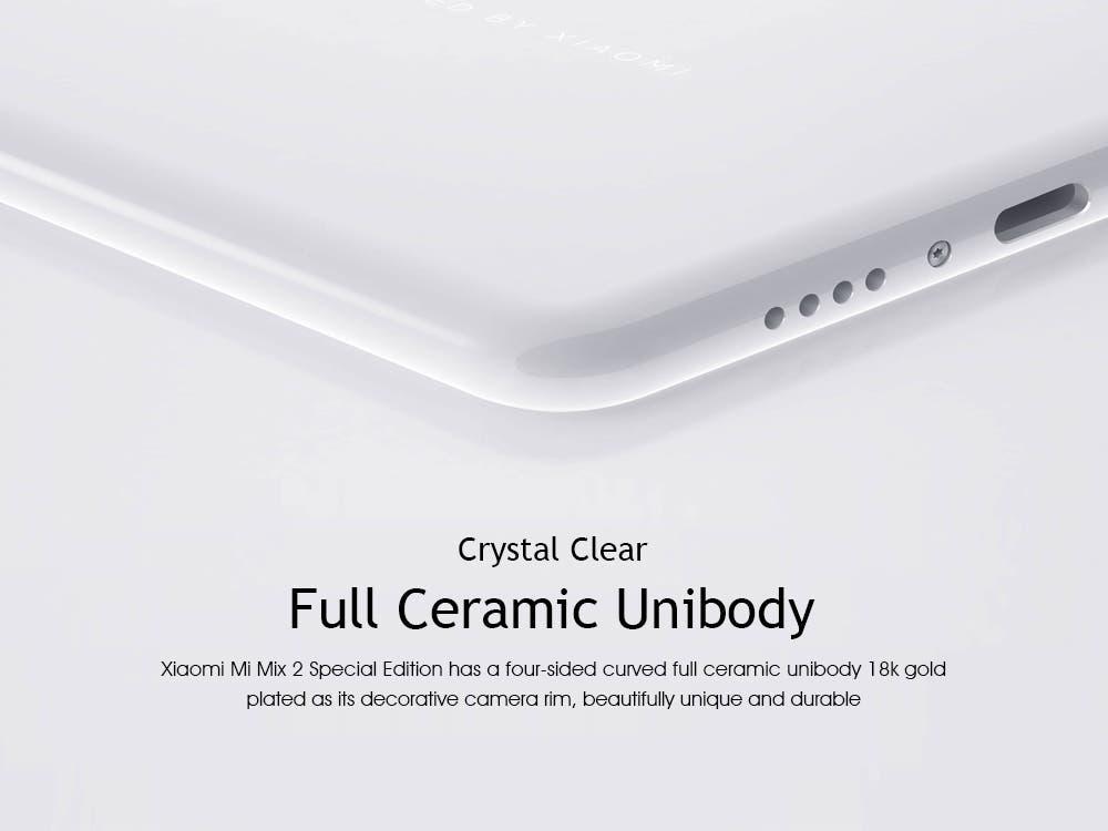 Xiaomi Mi MIX 2 SE blanco altavoz