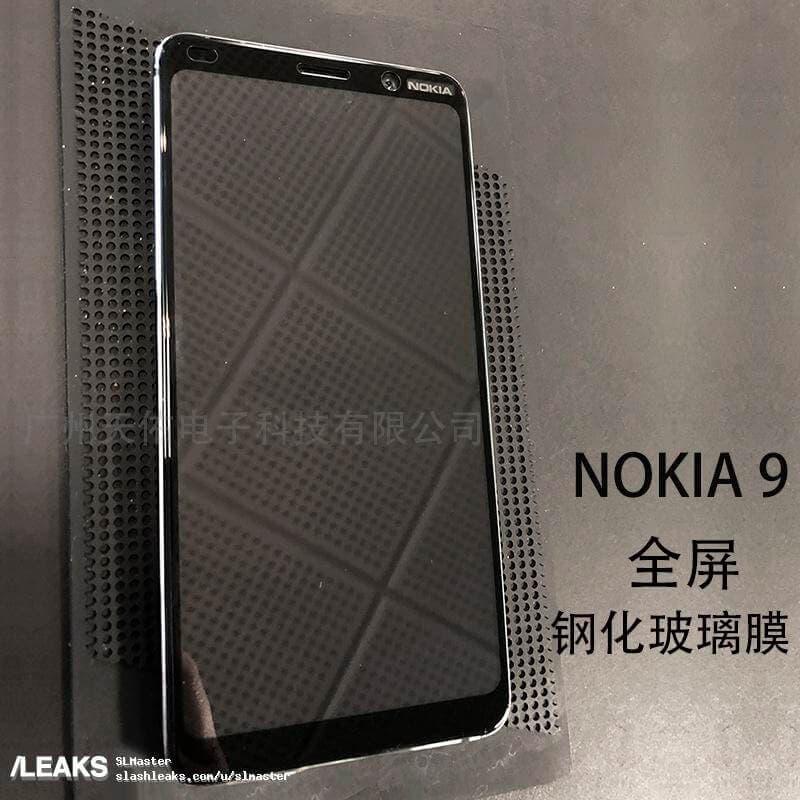 Frontal del Nokia 9