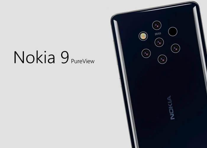 Frontal filtrado del Nokia 9