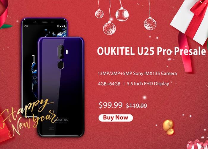 Ya puedes reservar el Oukitel U25 Pro a un precio casi regalado