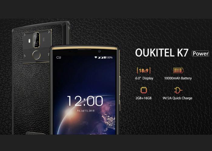 Compra el OUKITEL K7 Power por navidad con esta gran oferta