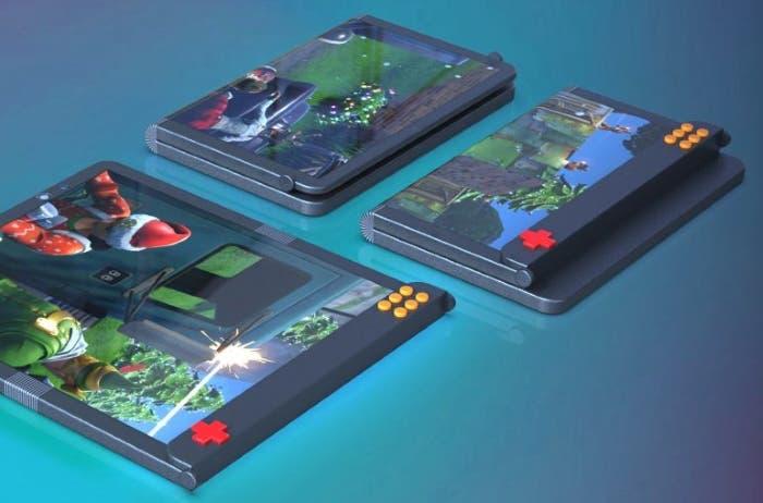 Una nueva patente de Samsung revela un teléfono plegable gaming