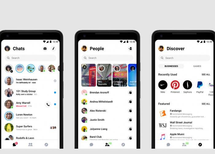 Cómo activar el modo oscuro de Facebook Messenger manualmente