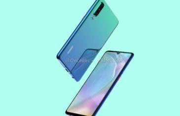 Huawei P30: nuevos renders y vídeo conceptual en alta definición