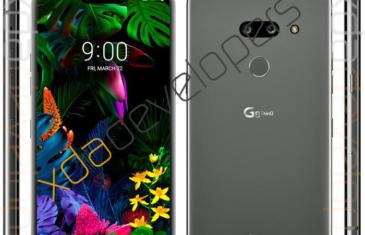 Filtrado el diseño del LG G8 antes de su presentación: notch y pocas novedades