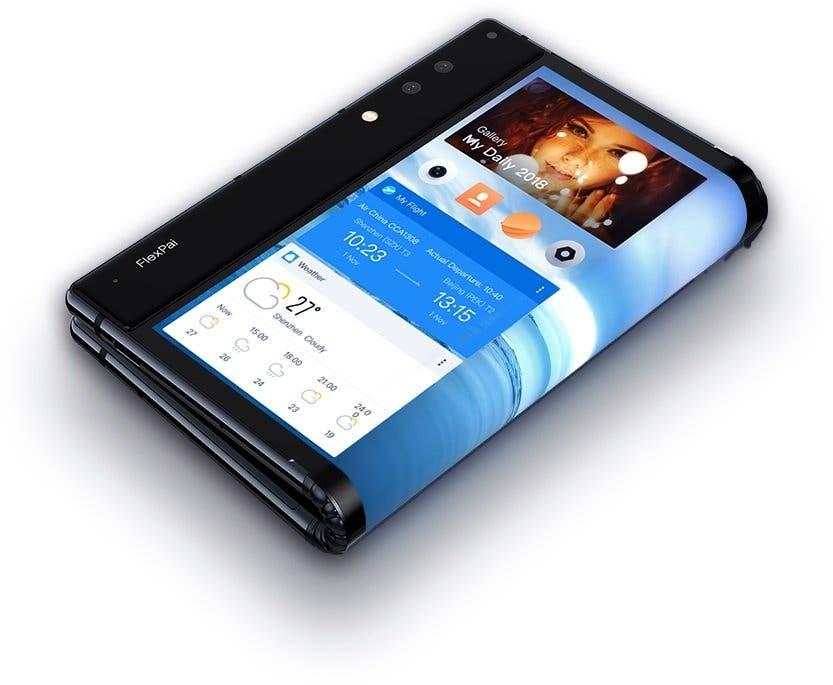 """FlexPai,el primer celular con pantalla flexible"""""""